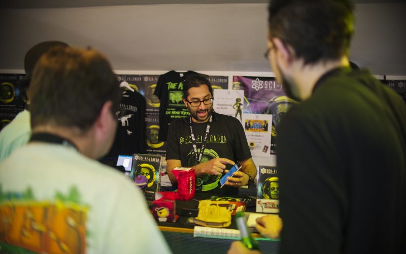 volunteers at sci-fi-london